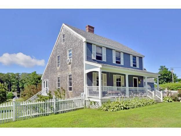 Saltbox With Front Porch Addition Google Search Watch