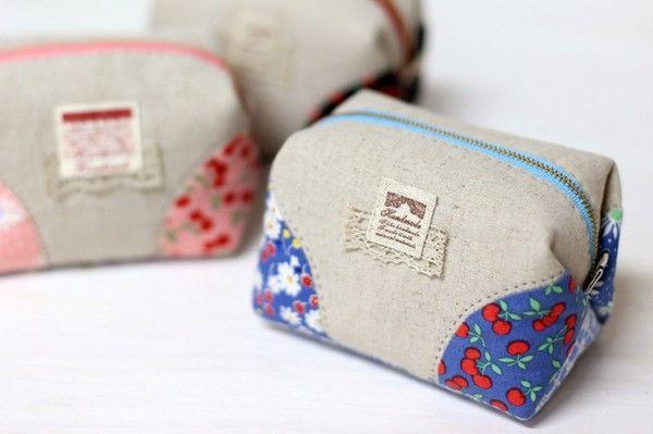 Cómo hacer bolsitas con retazos de tela ~ Solountip.com