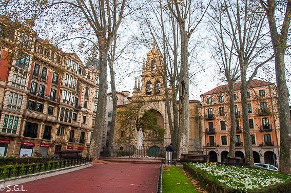 Bilbao Por Una Bilbaina Las Iglesias Fotos De Bilbao Bilbao País Vasco