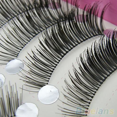1.2$  Know more - 10 Pairs Natural Long Thick False Eyelashes Beauty Makeup Eye Lashes Extension   #SHOPPING