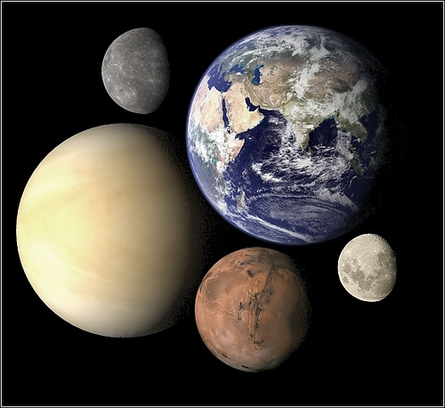 which planets are terrestrial - photo #9