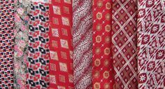 nepalese fabrics by Paisley Womble, via Flickr