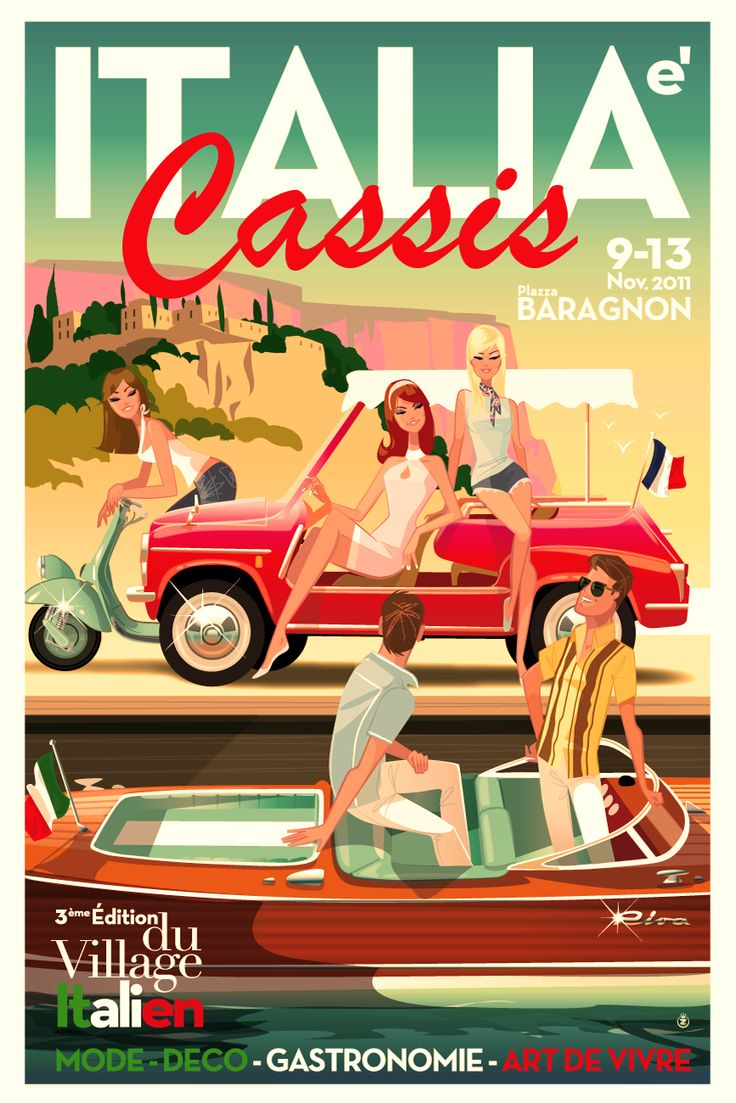 Richard Zielenkiewicz: Cassis à l'heure Italienne