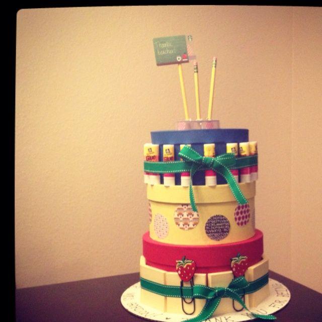 Unique+Crafts | ... supply cake for #Teacher Appreciation ... | Unique Crafts to M