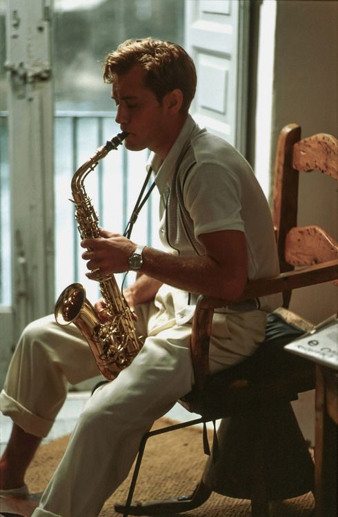 "Jude Law as Dickie Greenleaf in ""The Talented Mr. Ripley"""