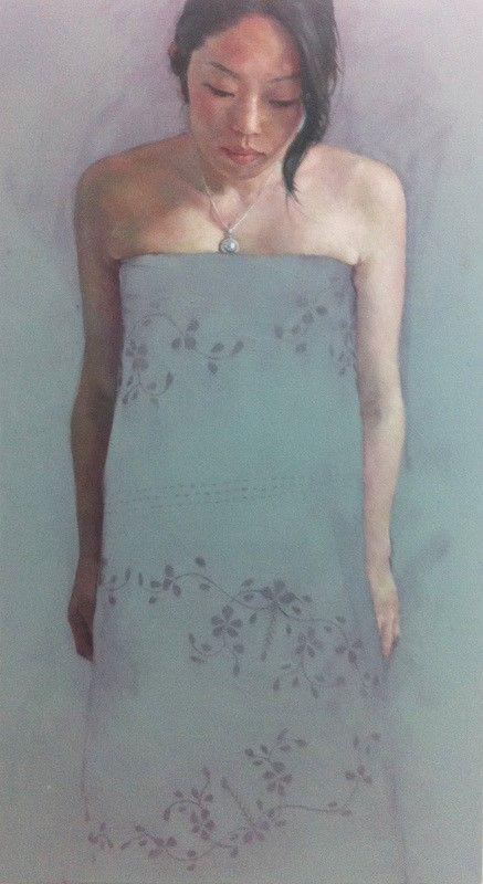 Jennifer Anderson, Observance, oil on canvas