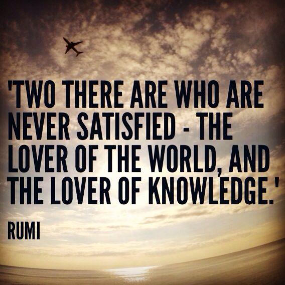 Rumi quotes, travel quotes