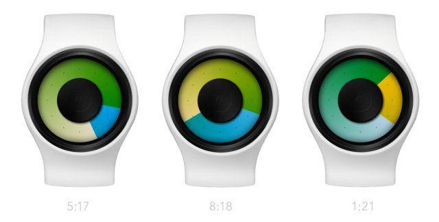 Ziiiro Aurora Watch - Telling Time