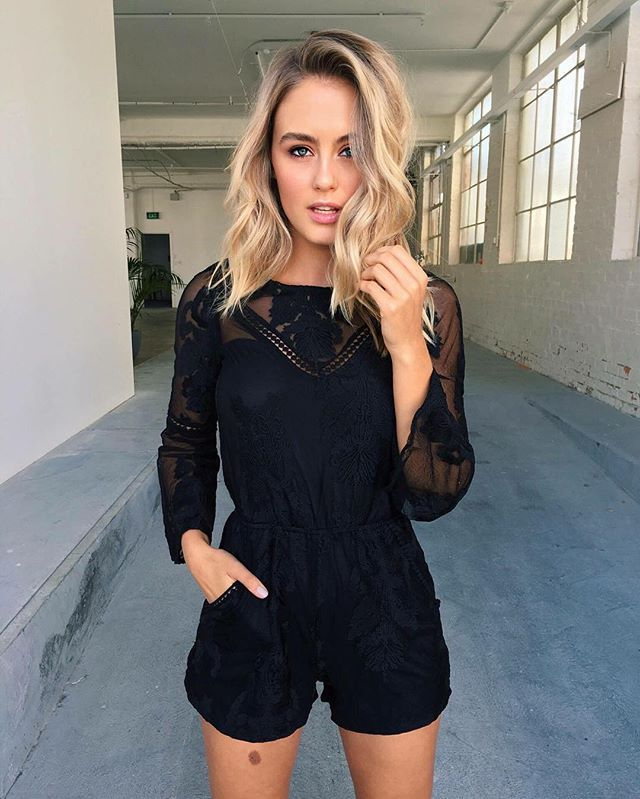 The perfect lace playsuit the 'Lane Way' playsuit $69.95