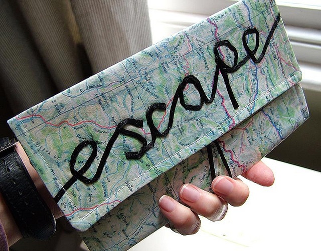 Best Map Crafts Ideas Images On Pinterest Map Crafts Old - Four old us maps in holder