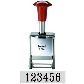 Trodat Metal Economy Sequential Number Stamp