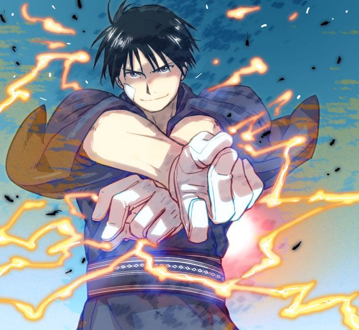 Roy Mustang by ~JudeMathis on deviantART -- stolen from macajia on pixiv