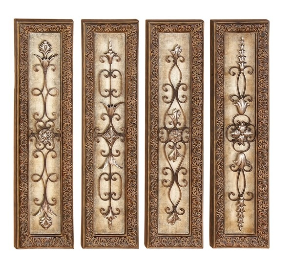 31 5 Assorted Metal Wall Art Indoor Outdoor Hanging Wall Decoration Mexican Rustic