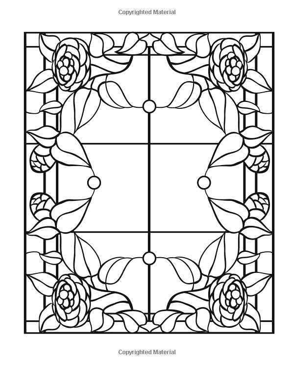 IColor Stained Glass Windows Coloring