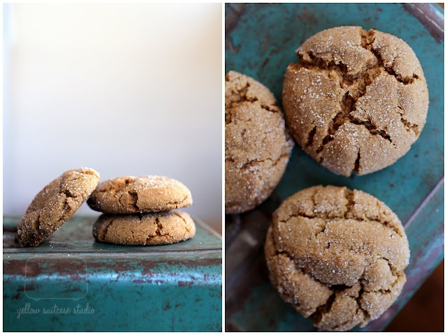 Soft Molasses Cookie
