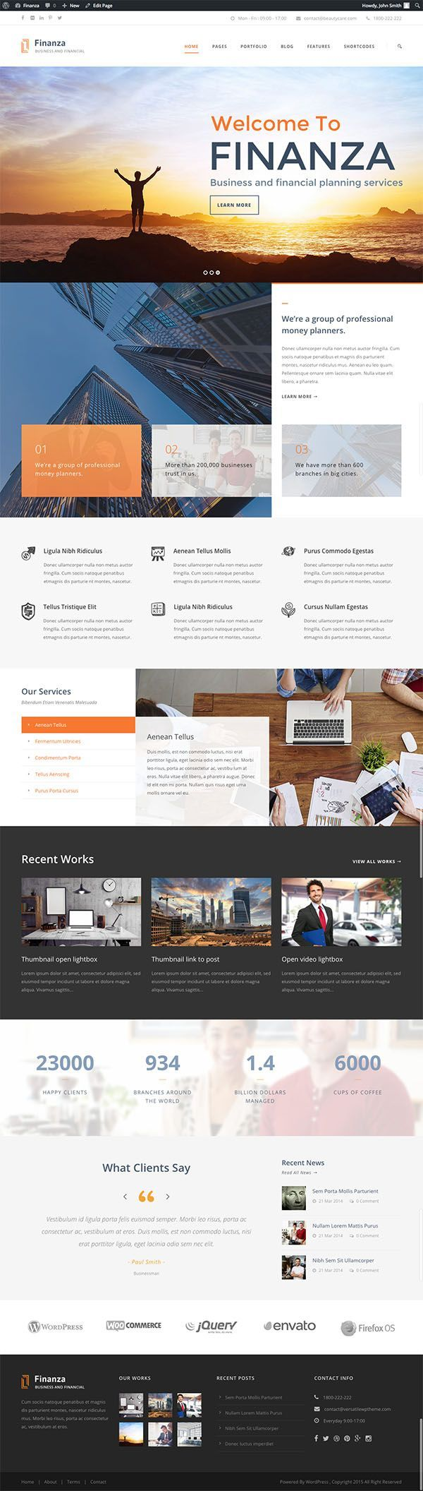 15 Fresh Responsive HTML5 WordPress Themes, http://wpgrand.com/html5-wp-themes/