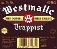 Een donker, roodbruin trappistenbier met een rijke en complexe smaak. Het is een evenwichtig bier met een zacht mondgevoel en een lange, droge afdronk. Westmalle Dubbel (trappist) sterkte 7 %
