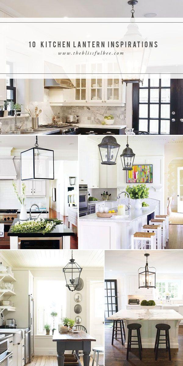 10 Kitchen Lantern Inspirations | The Blissful Bee