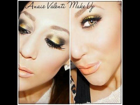 Black Gold Smokey Eyes Tutorial