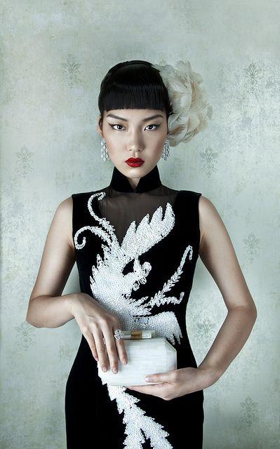 Phoenix Cheongsam - ugliest cheongsam ever but still a cheongsam nonetheless.