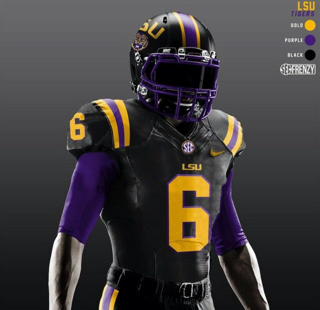 Future LSU Football Uniform  86e6a651c