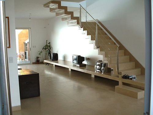 Pisos de ceramica para casas buscar con google pisos - Como colocar microcemento ...
