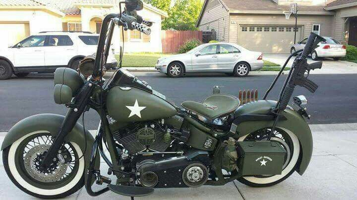 Ape Hanger Army Motorcycle Army Motorcycle Motorcycle Southern
