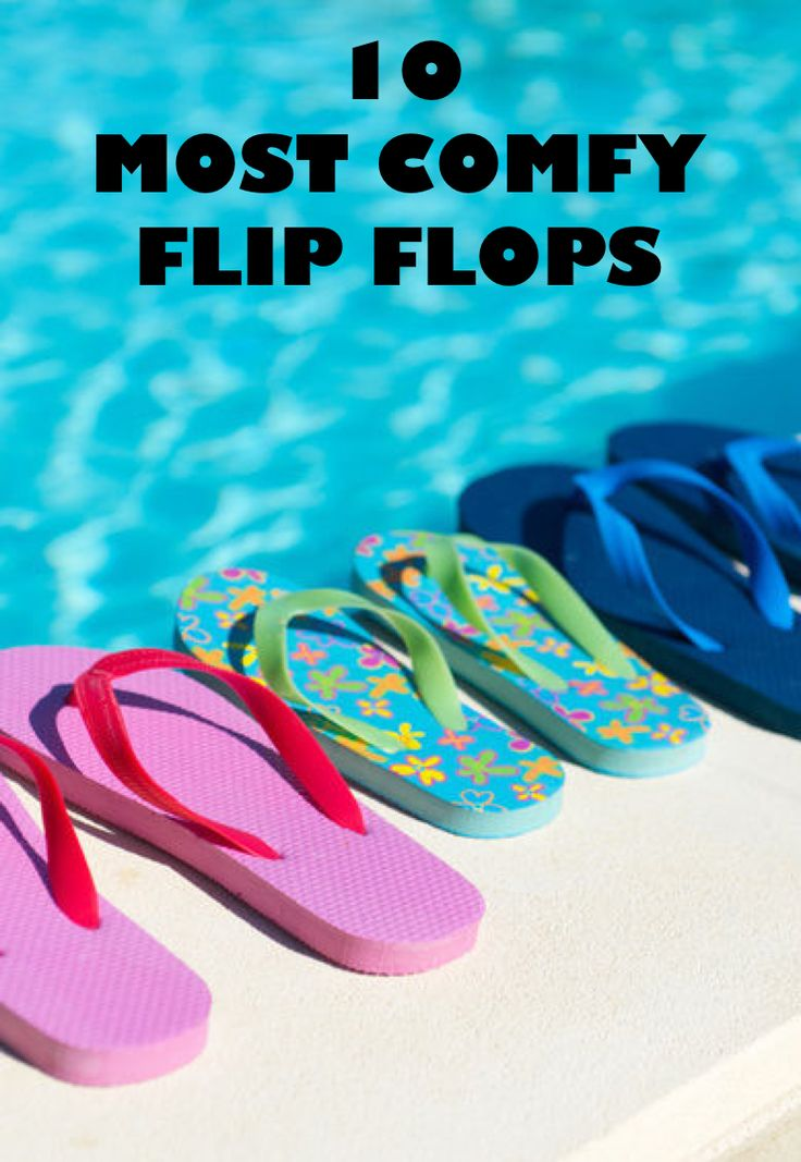 Embrace spring weather by switching from full coverage shoes to flip flops! Let your feet breathe and catch some sunshine with a stylish and comfortable pair of flip flops. One of the most popular brands that also happens to offer great foot support is the Birkenstock Gizeh. It features pronounced arch support and molds to your foot shape. The OluKai 'Ohana provides waterproof technology and contours to your foot. Consult eBay's list of most comfy flip flops for more info!