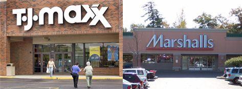 TJ Maxx and Marshall's