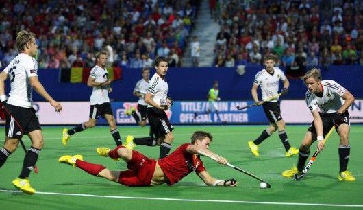 Fighting Lions (Belgium 2 - Germany 1) EK2013, Boom