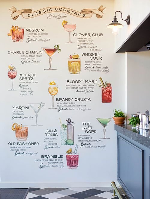 The Greens Cocktail Menu | Daily Addict