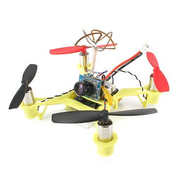 Between $50 to $60 Eachine Tiny QX90C 90mm Micro FPV Racing Quadcopter Based On F3 EVO Brushed Flight Controller BNF
