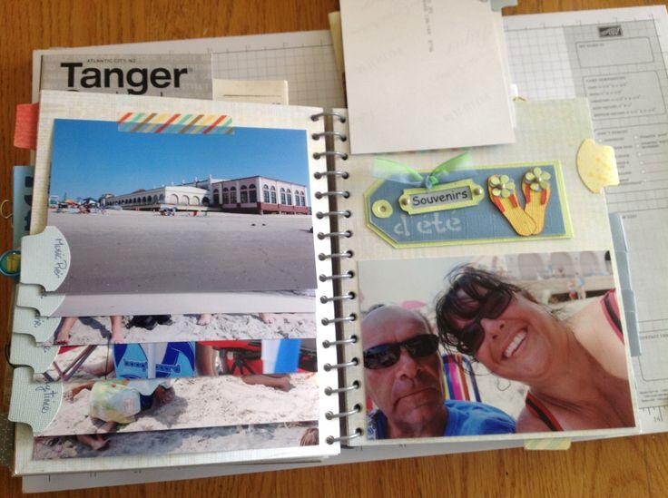 Album de vacances 2014 - page intérieure