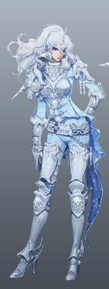(Aion) Unicorn Warrior