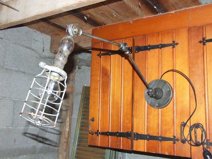 1000 ideas about deco industrielle on pinterest industrial lampe industri - Deco industrielle atelier ...