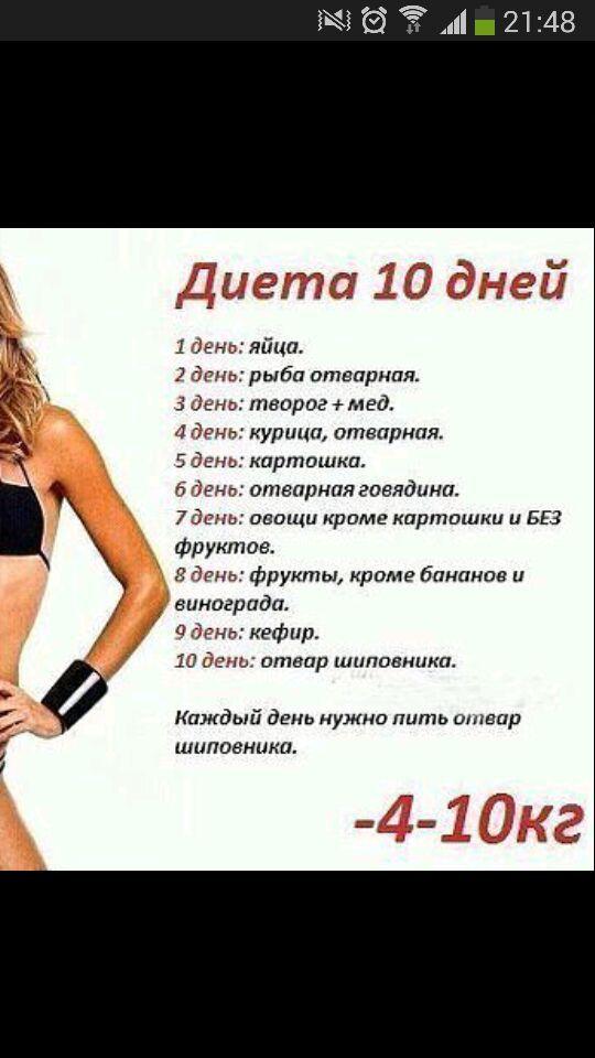 Рецепт диета для похудения живота