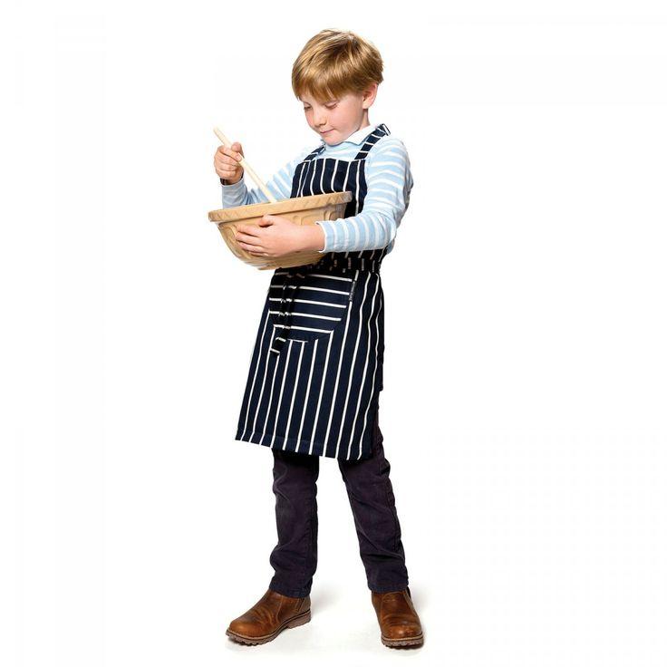Childs Apron, Butchers Stripe - David Mellor  - David Mellor Design