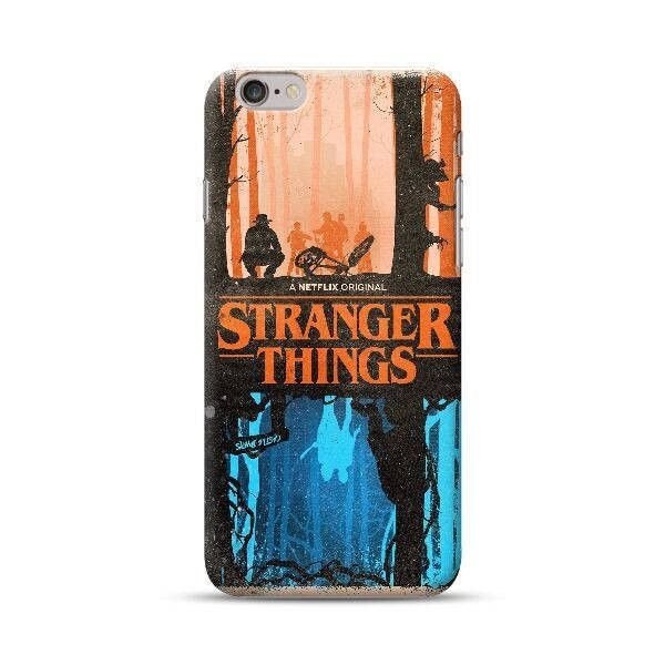 Stranger things phone case iPhone 7 7 Plus 6 6s 6 plus 5 5s 5se 4... ($7.99) ❤ liked on Polyvore featuring accessories, tech accessories and samsung