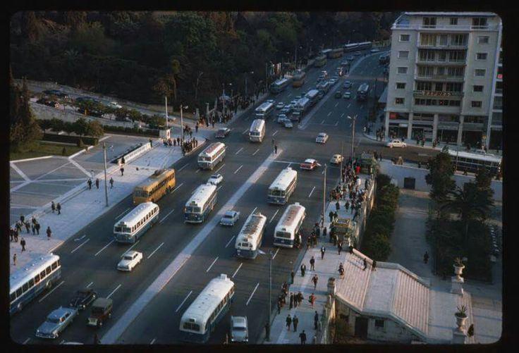 Η πλατεία Συντάγματος από ψηλά! Απρίλιος 1965