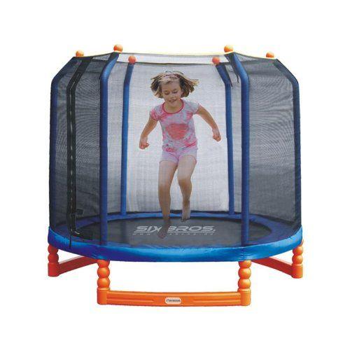 Test: Trampolin für Kinder mit Sicherheitsnetz