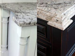 Home Remodeling Design: Carefully Choose Your Countertop Edging. Small  Children Can Easily Get Hurt