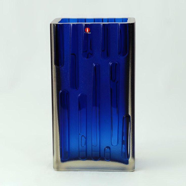 Glass vase by Tapio Wirkkala for Iittala