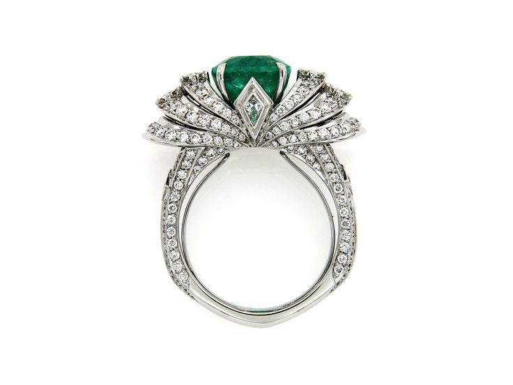 139 Best Images About Emerald Rings On Pinterest