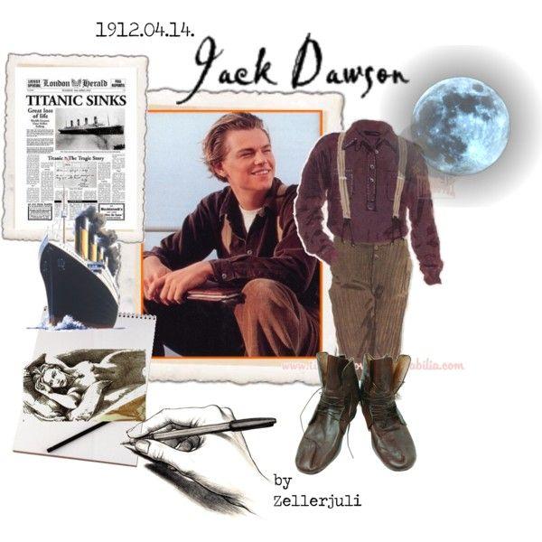 """Jack Dawson"" by zellerjuli on Polyvore"