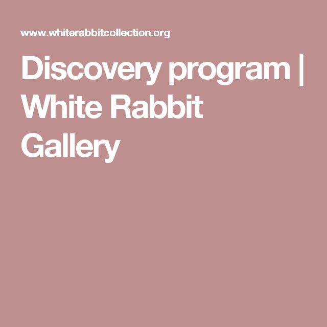 Discovery program | White Rabbit Gallery