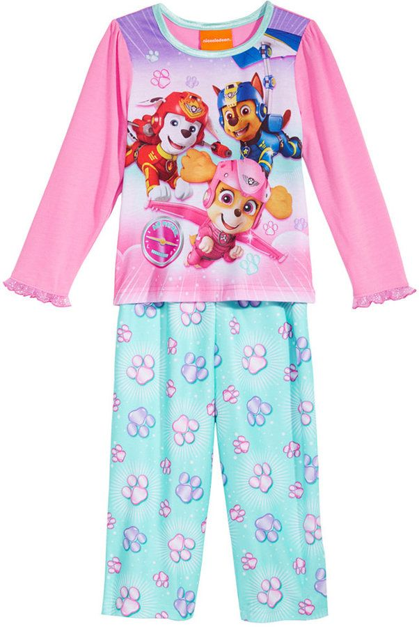 Paw Patrol 2-Pc. Pajama Set, Toddler Girls (2T-5T)