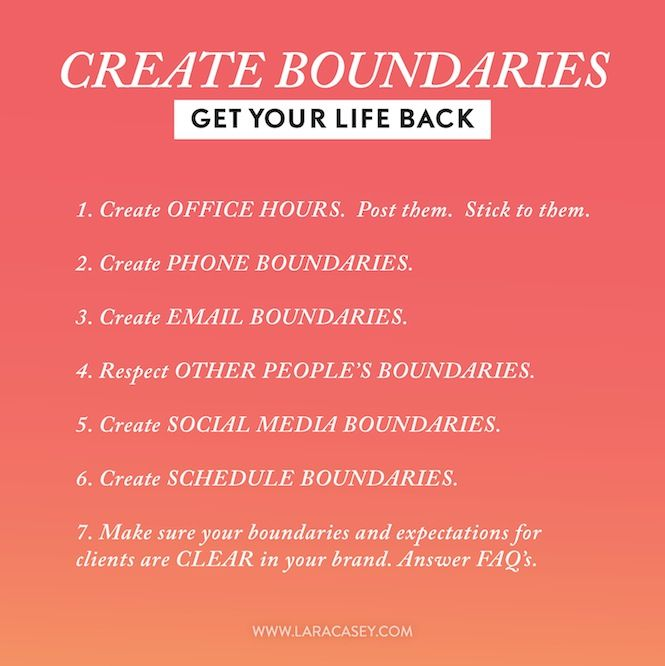 Good tips for keeping your sanity while building your business.
