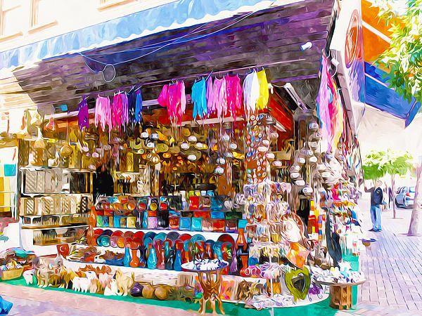 Alanya Street Shopping