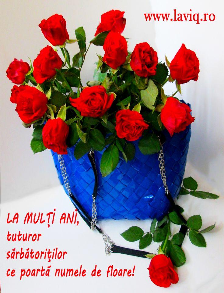 La multi ani, florilor sarbatorite astazi!  www.laviq.ro https://www.facebook.com/pages/LaviQ/206808016028814