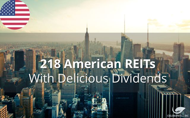 DNEWs: America REITs I Would Like To Own